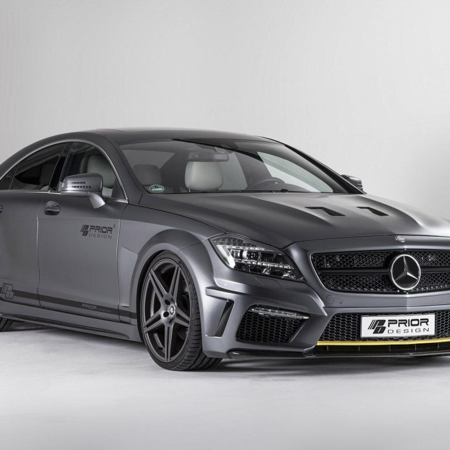 2013 Prior Design - Mercedes CLS PD550 Black Edition