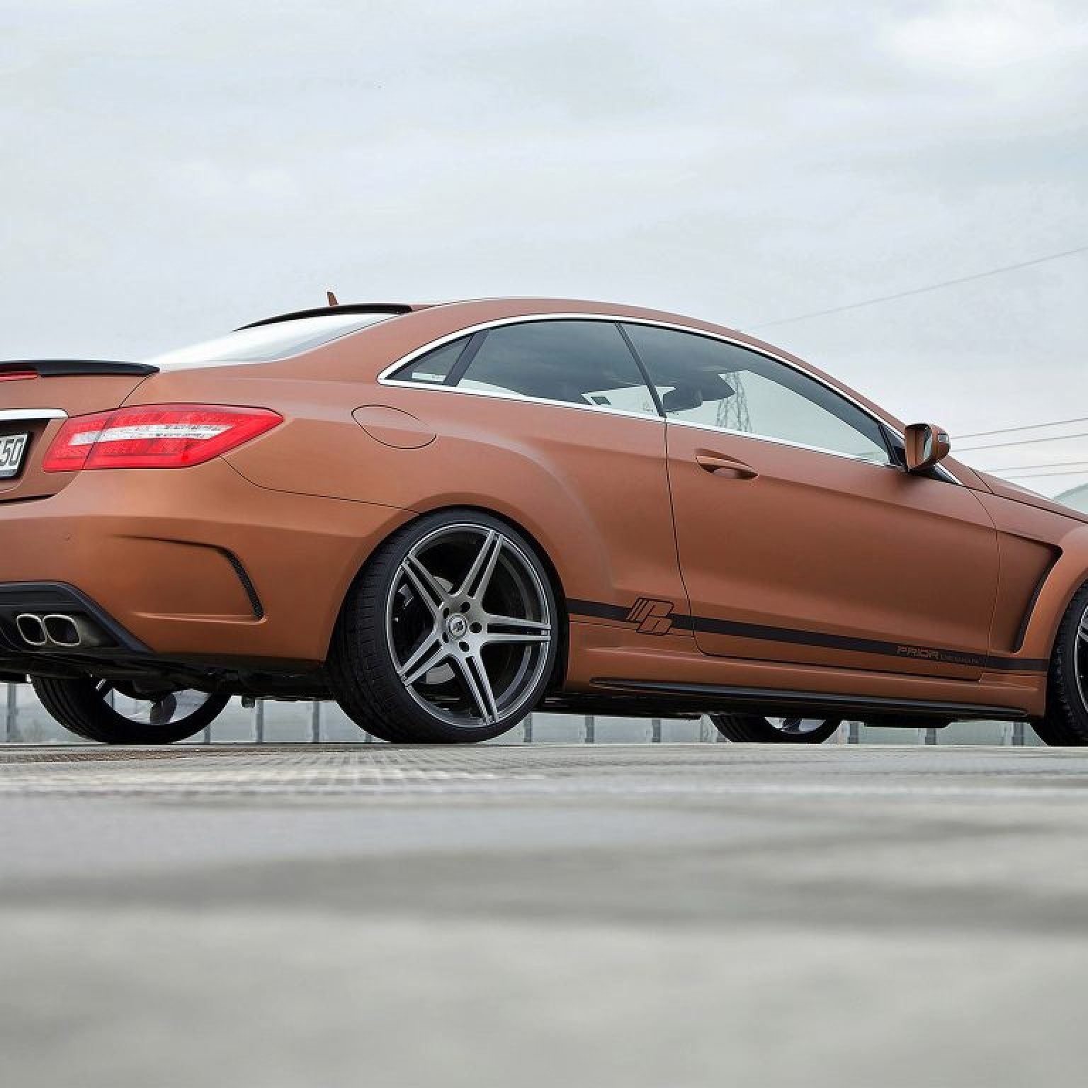 2013 Prior Design - Mercedes Classe E Coupe PD850 Black Edition Widebody