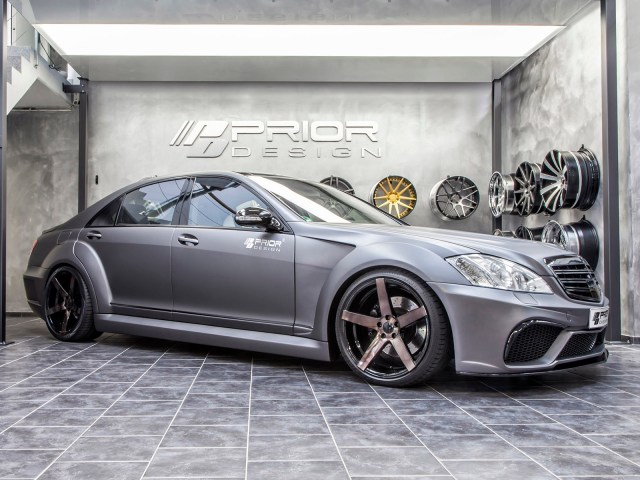 2014 Prior Design - Mercedes Classe S Black Edition V3 Widebody Aero Kit W221