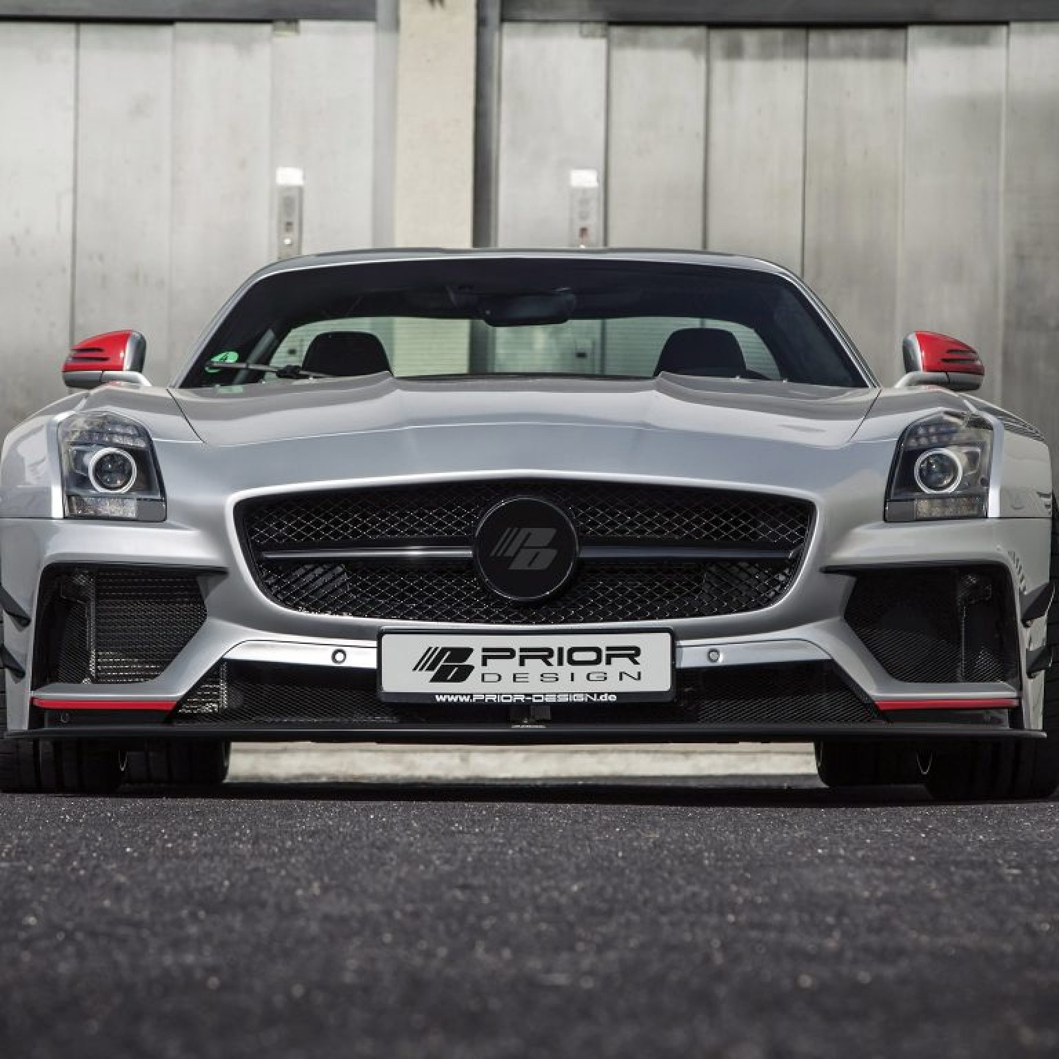 2015 AMG Mercedes SLS PD 900 GT WB C197 by Prior Design