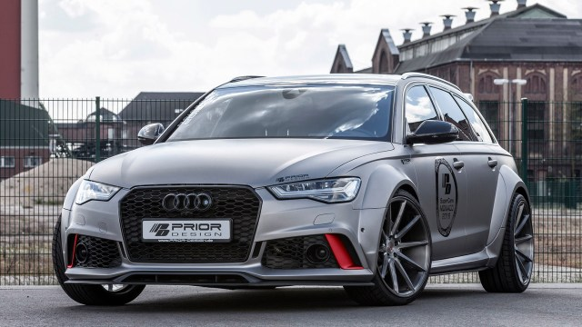 2016 Audi RS6 Avant PD600R Widebody Aerodynamic Kit by Prior Design