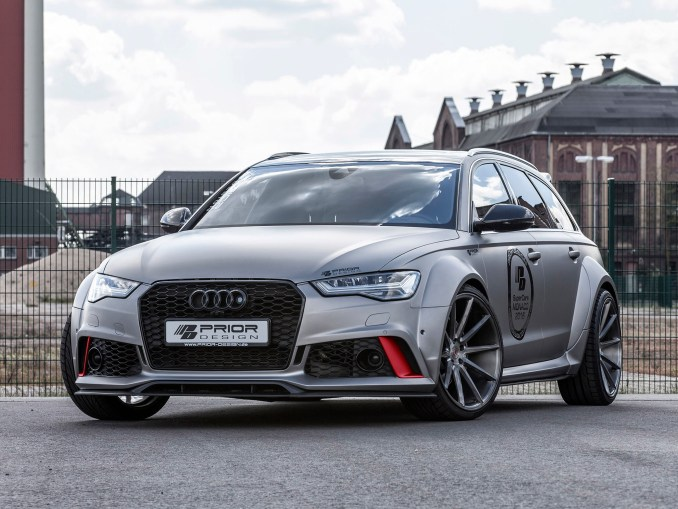 2016 Audi RS6 Avant PD600R Widebody Aerodynamic Kit by Prior Design