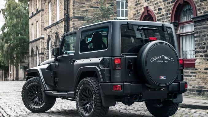 2016 Project Kahn Jeep Wrangler Black Hawk Edition