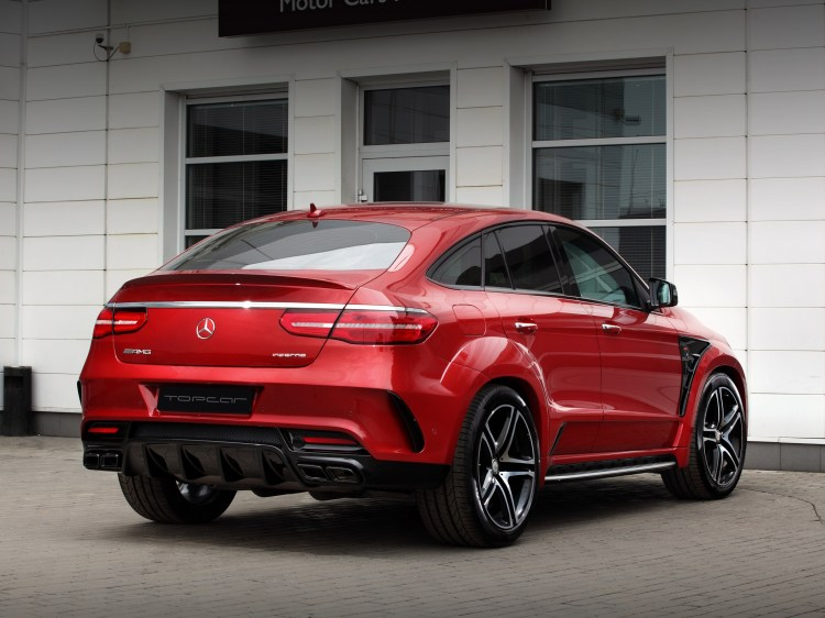 2016 Topcar Mercedes GLE Coupe Inferno C292