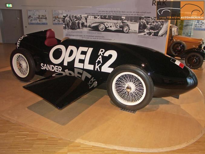 1928 Opel Rak 2