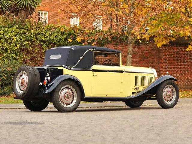Bugatti Type 46 Cabriolet by Figoni (1930)