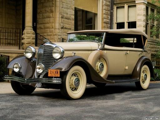 1933 Lincoln K Dual Cowl Phaeton by Dietrich