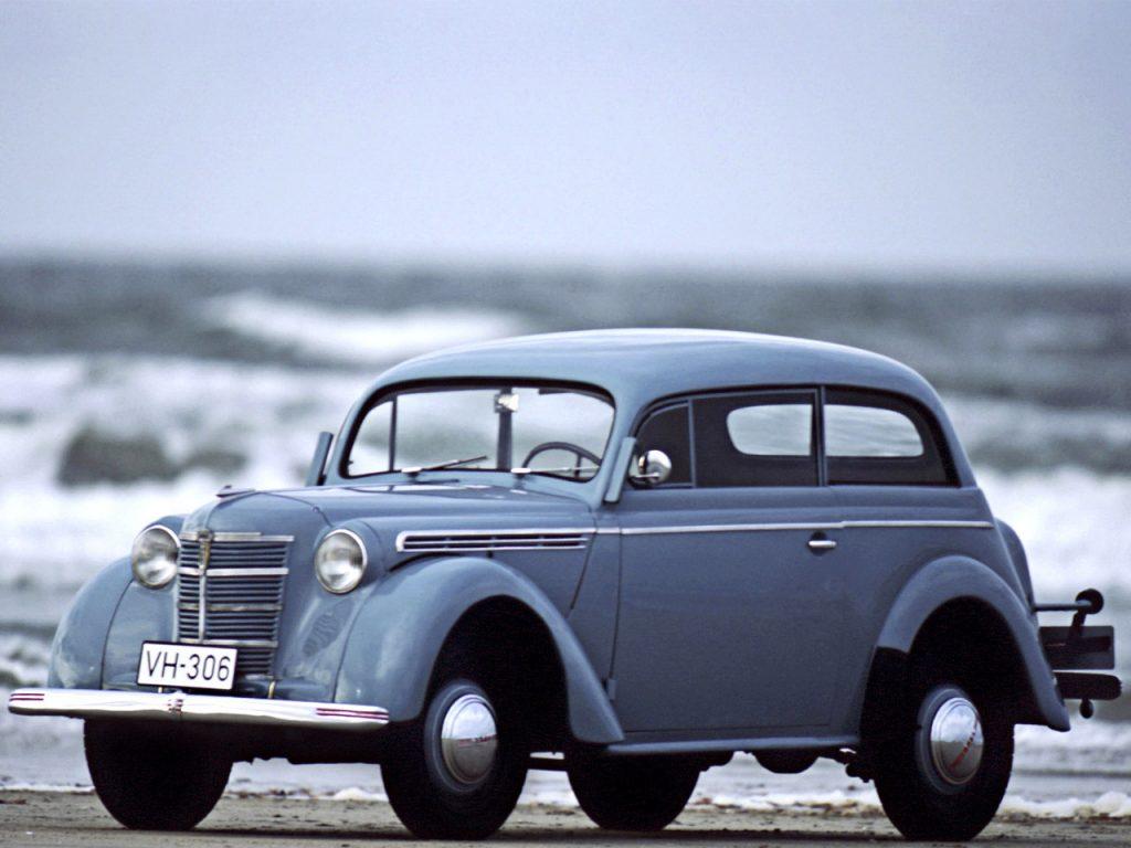 1938 a 40 Opel Kadett 2 Portes Limousine