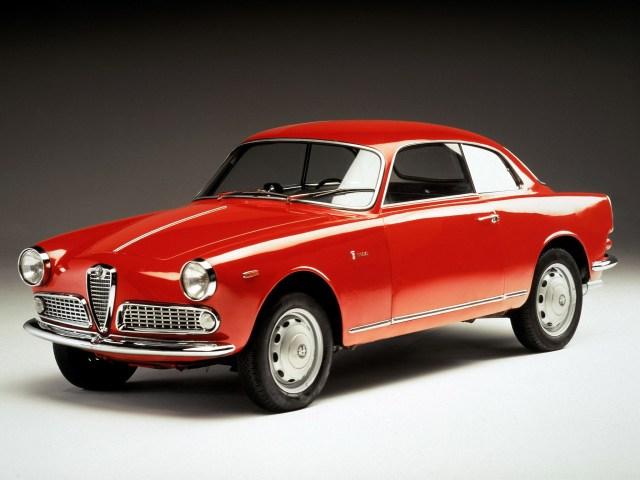 1954-65 Alfa-Romeo Giulietta Sprint Bertone