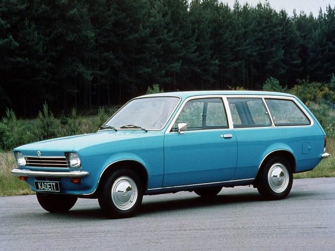 1973 a 77 Opel Kadett Caravan C