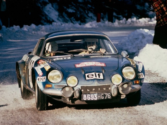 1973-78 Alpine A110 Rally Car