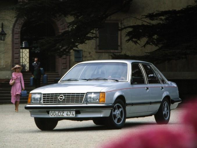 1978 a 1982 Opel Senator A