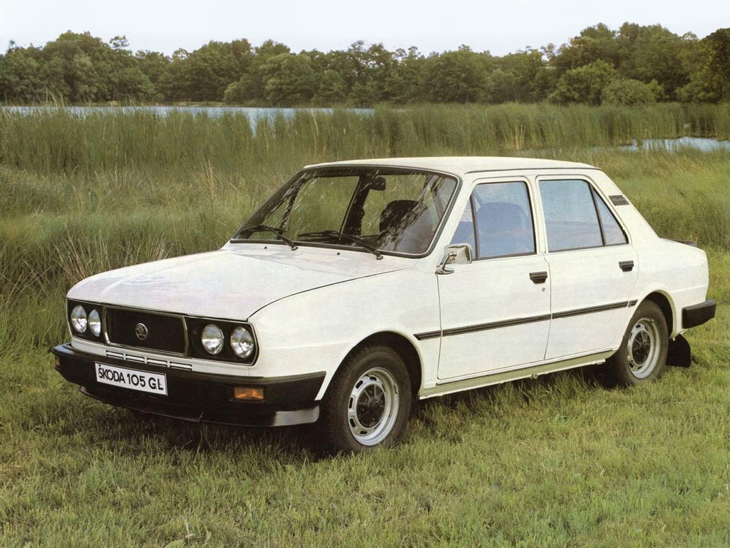 1981 Skoda 105 GL