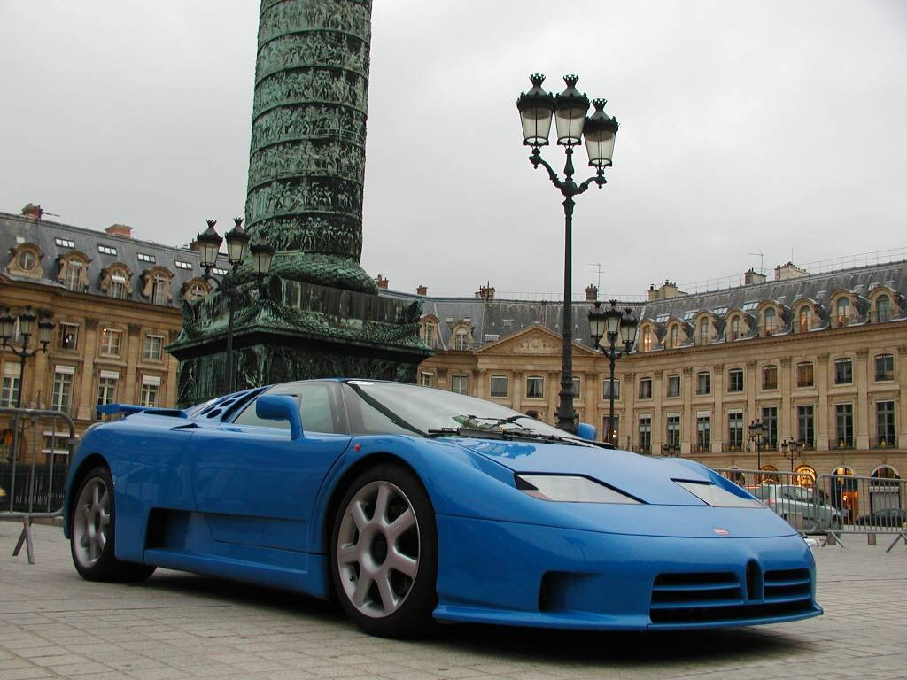 Bugatti EB 110 Supersport (1993)