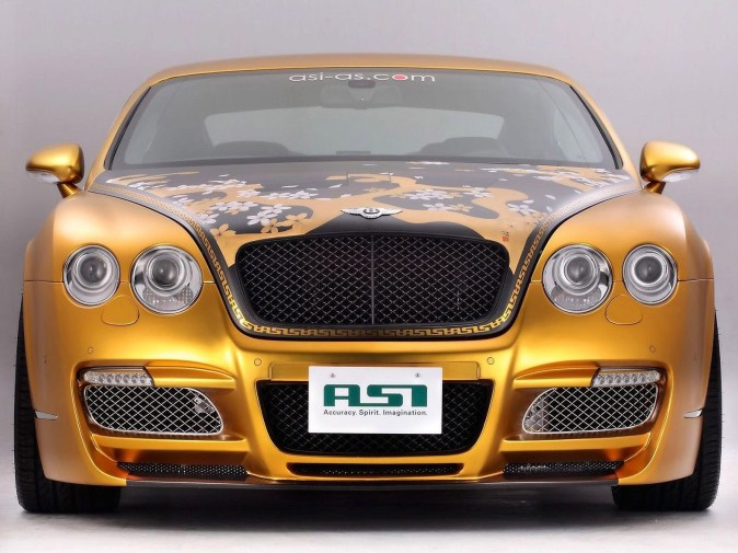 2008 ASI Bentley Continental GTS Gold W70