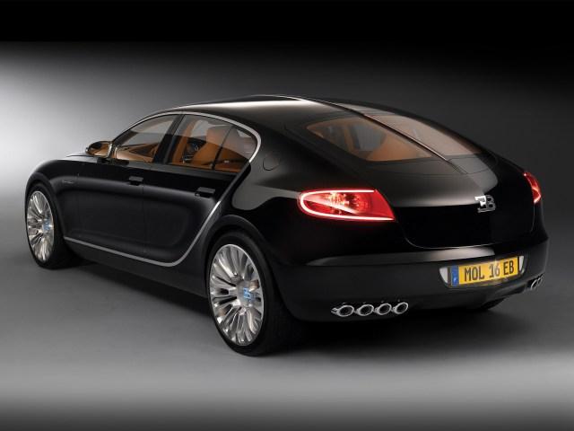 Bugatti 16c Galibier Concept (2009)