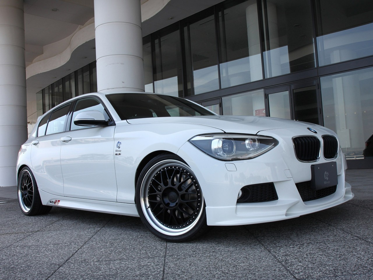 2012 3ddesign Bmw 1 Series M Sport F20