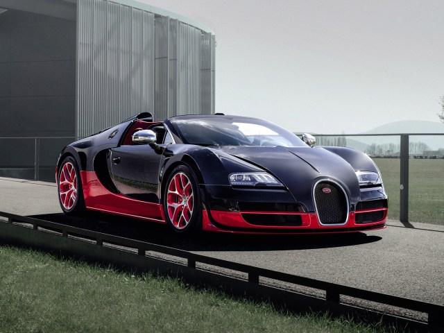 Bugatti Veyron Grand Sport Roadster Vitesse (2012)