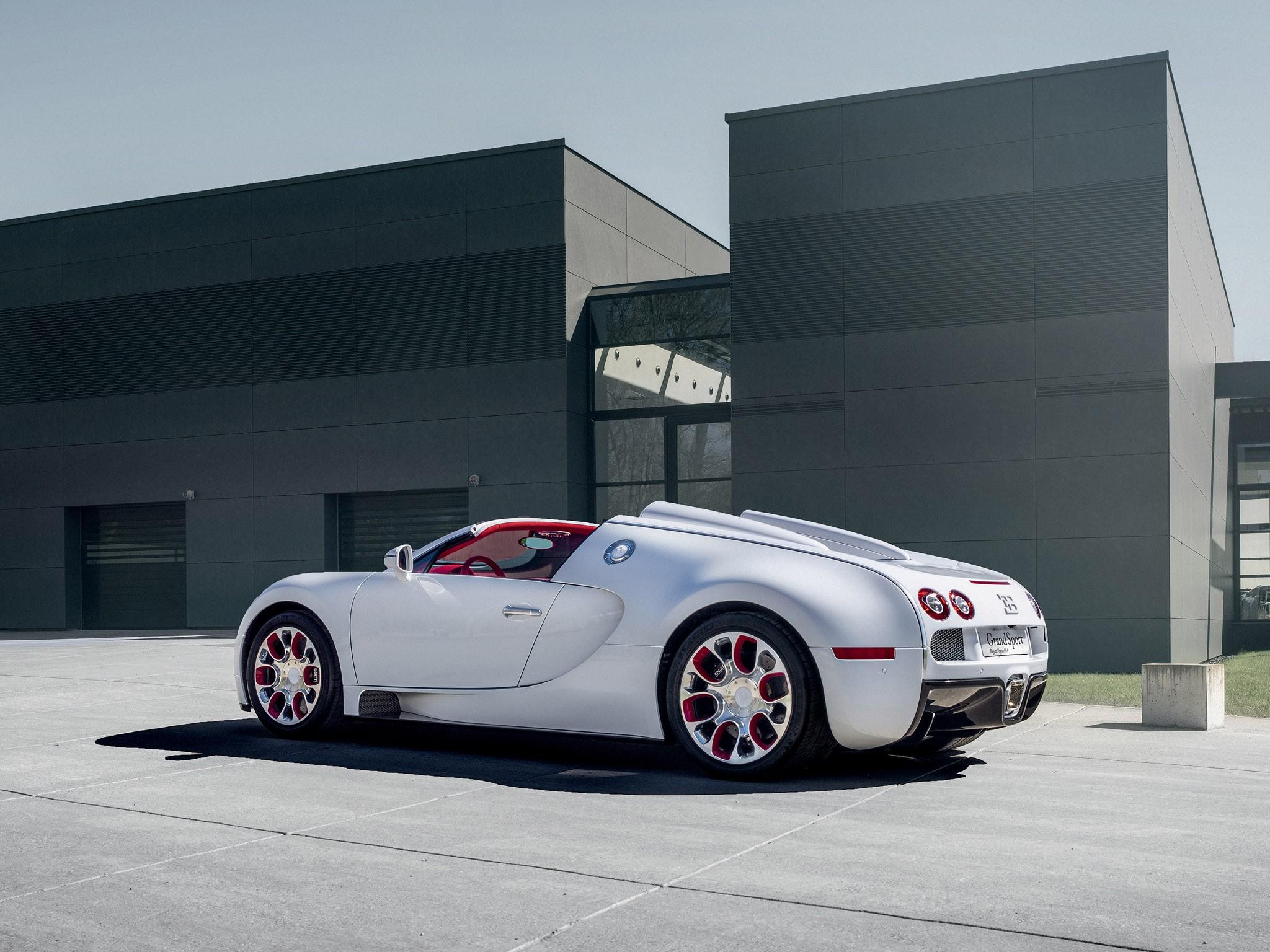 Bugatti Veyron Grand Sport Wei Long (2012)