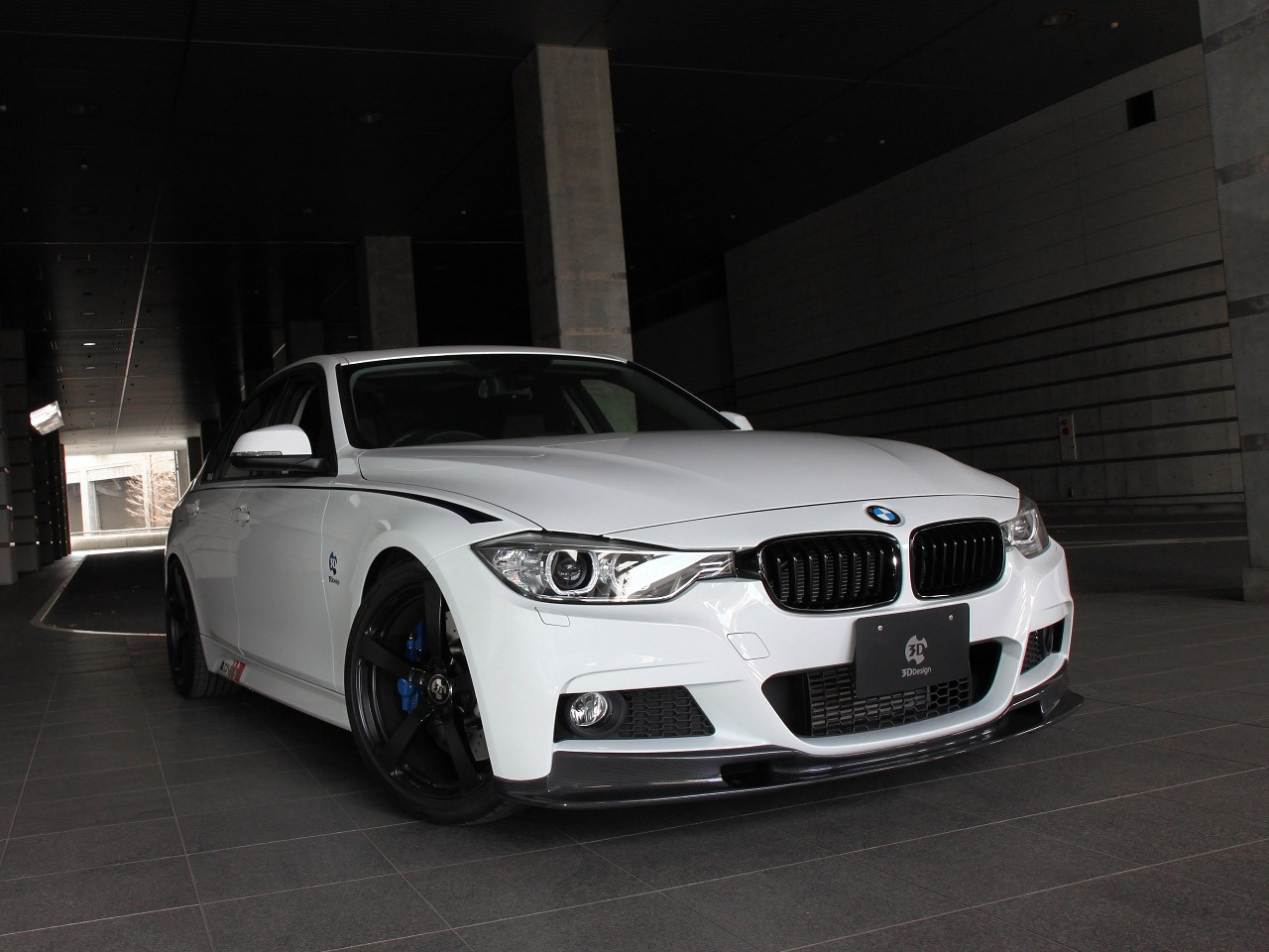 2013 3d design Bmw 3 Series F30