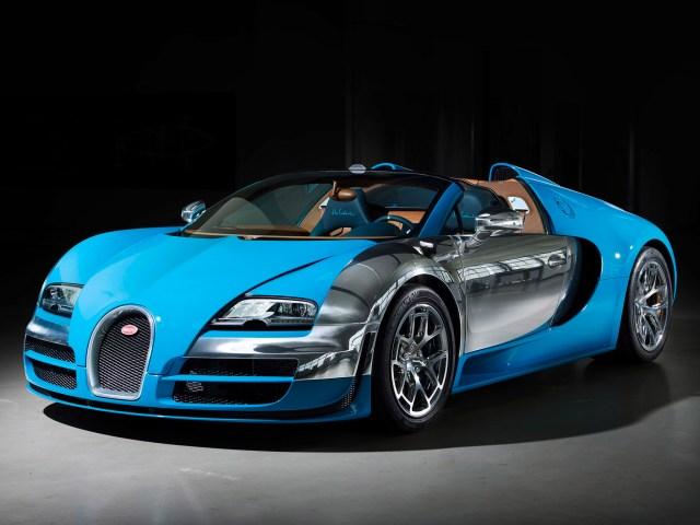 Bugatti Veyron Grand Sport Roadster Vitesse - Meo Constantini (2013)