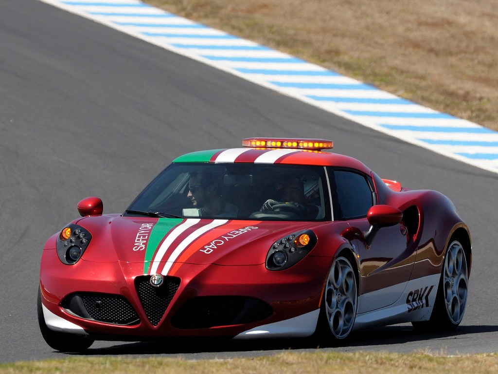 2014 Alfa Romeo 4c SBK Safety Car