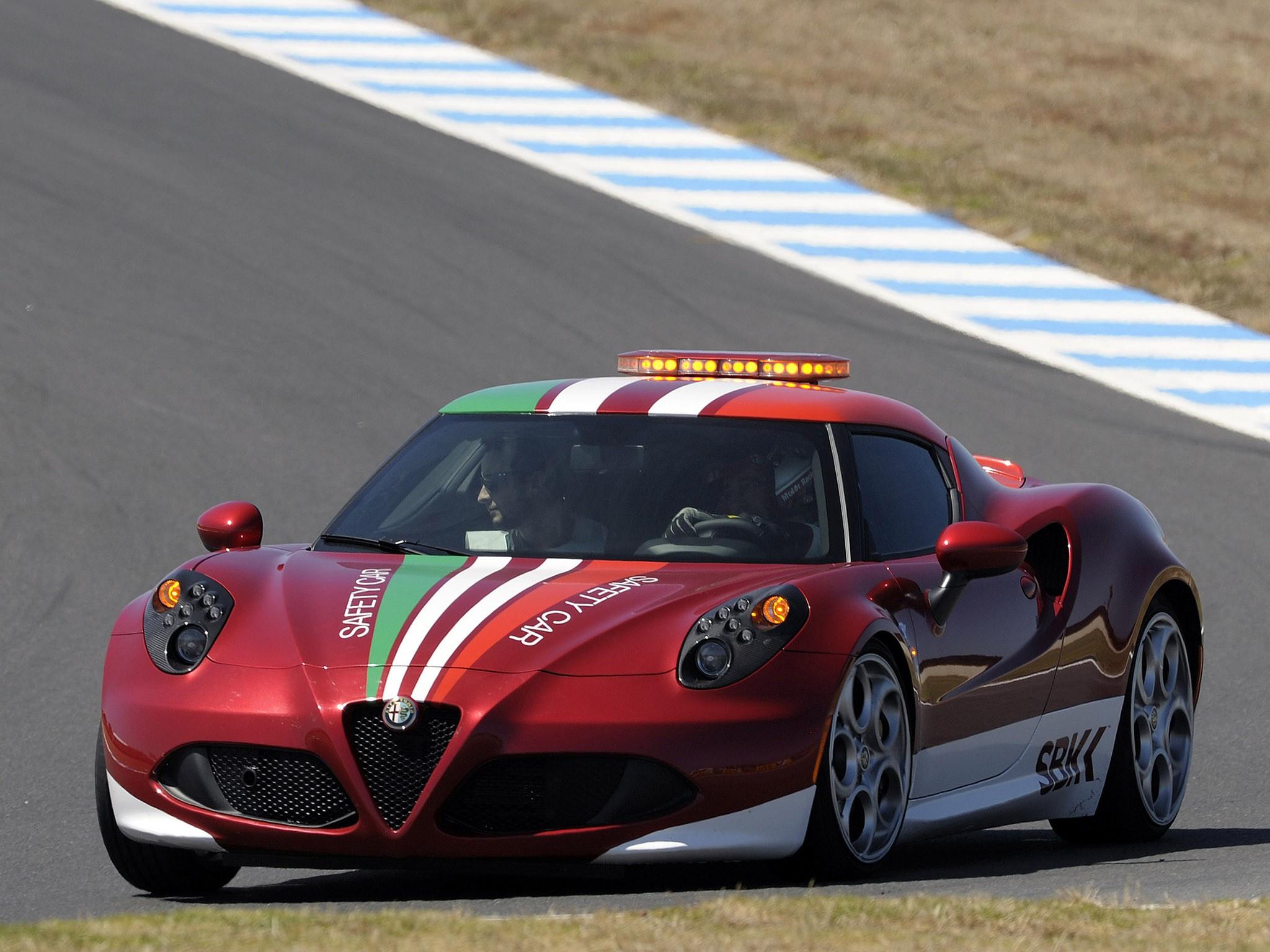 2014 Alfa Romeo 4c SBK Safety Car