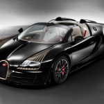 2014 Bugatti Veyron Grand Sport Roadster Vitesse Black Bess