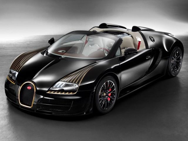 Bugatti Veyron Grand Sport Roadster Vitesse Black Bess (2014)