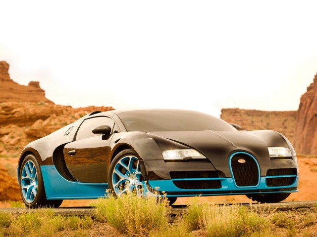 Bugatti Veyron Grand Sport Vitesse Drift Transformers 4 (2014)
