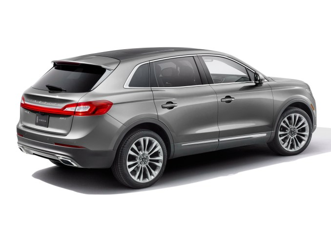 2015 Lincoln MKX Gris Arriere