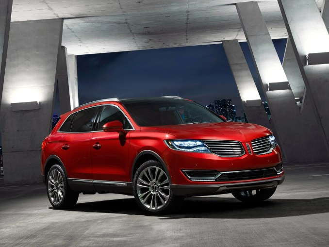 2015 Lincoln MKX Rouge Avant