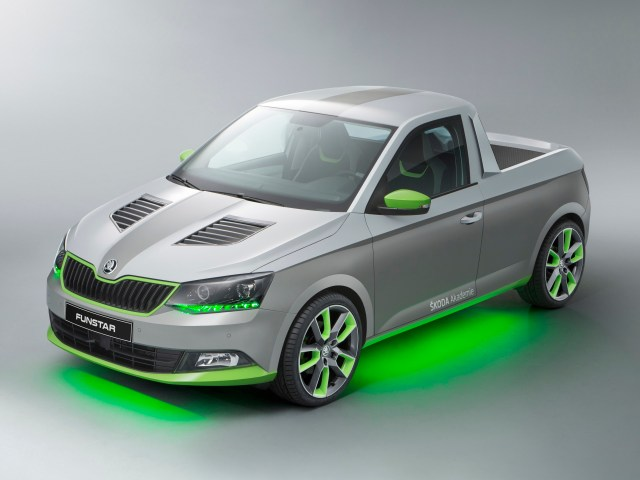 2015 Skoda Fabia Funstar Pick-up Concept
