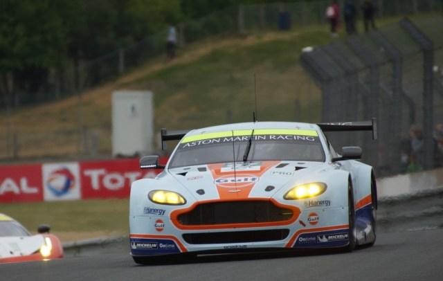 24 H du Mans 2015 - Aston-Martin Vantage V8