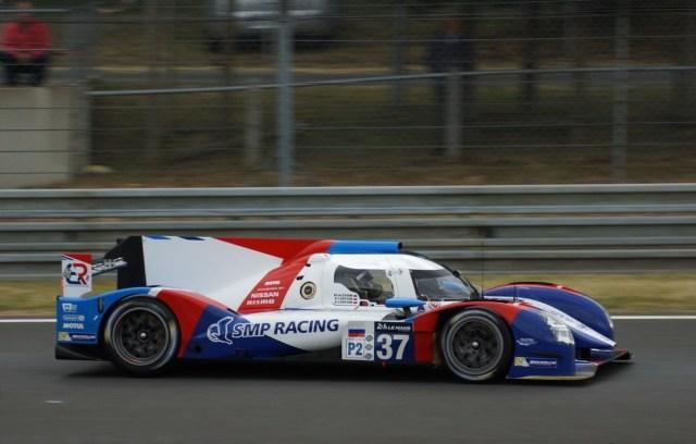 24 H du Mans 2015 - BR01 SMP Racing