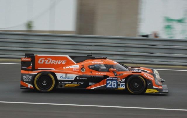 24 H du Mans 2015 - Ligier JS P2 G-Drive Racing