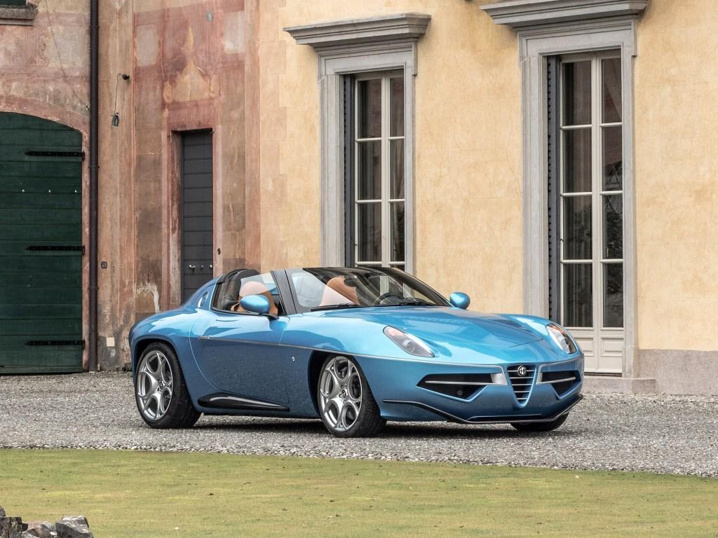 2016 Alfa Romeo Disco Volante Spider