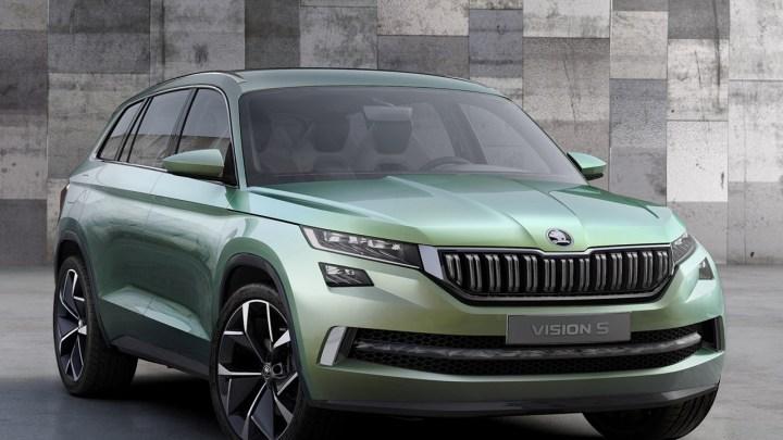 Skoda VisionS Concept 2016 le nouveau SUV Skoda au salon de Genève