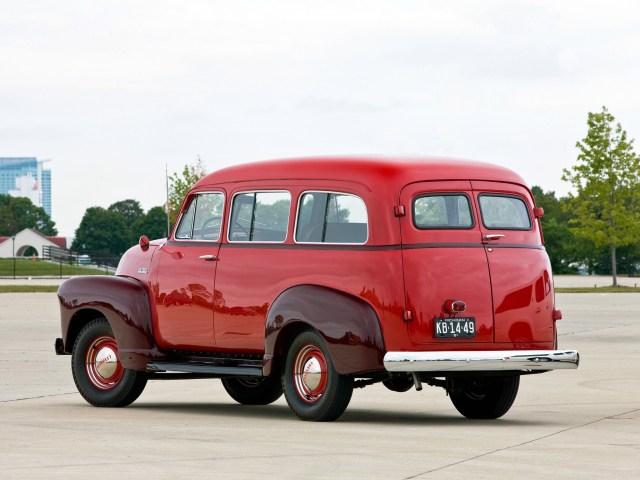 Chevrolet Suburban Carryall 1951