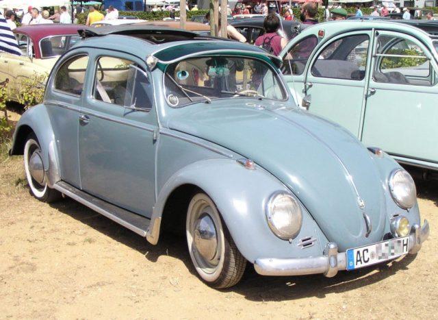 1957 Volkswagen Coccinelle 1200 Export