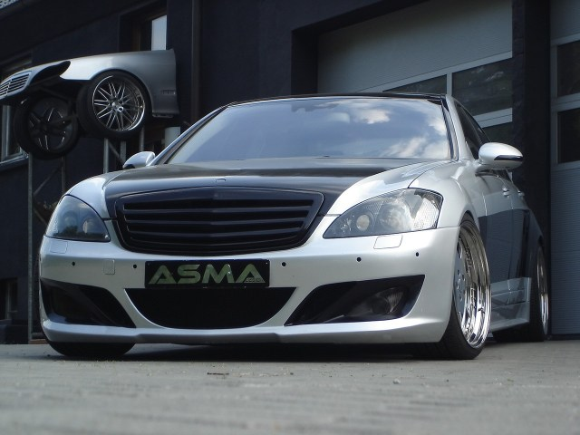 2007 Asma Design S Eagle II Widebody based Mercedes S Class