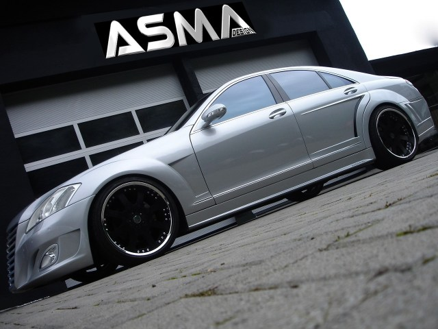 2007 Asma Design S Eagle I Widebody based Mercedes S Class