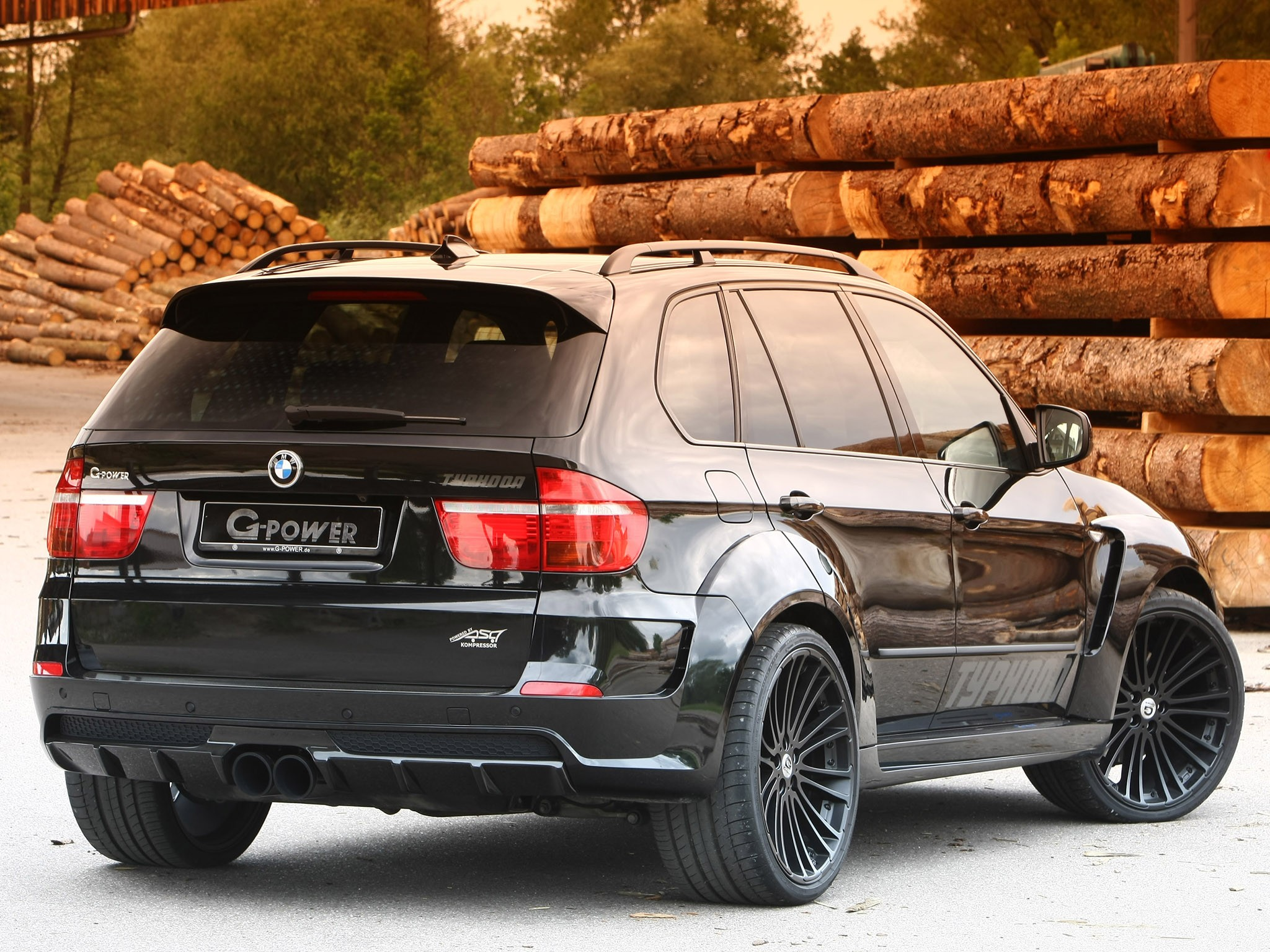 2010 G-power - Bmw X5 Typhoon Black Pearl