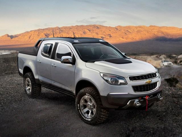 2011 Chevrolet Colorado Rally Concept