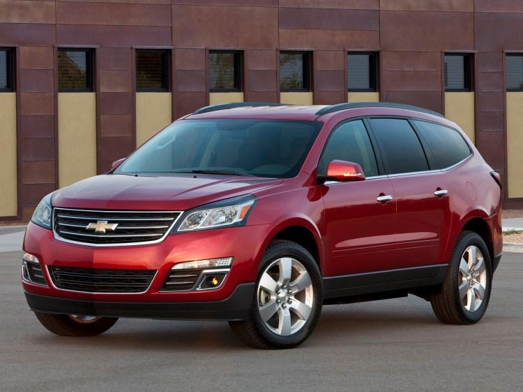 2012 Chevrolet Traverse Crossover