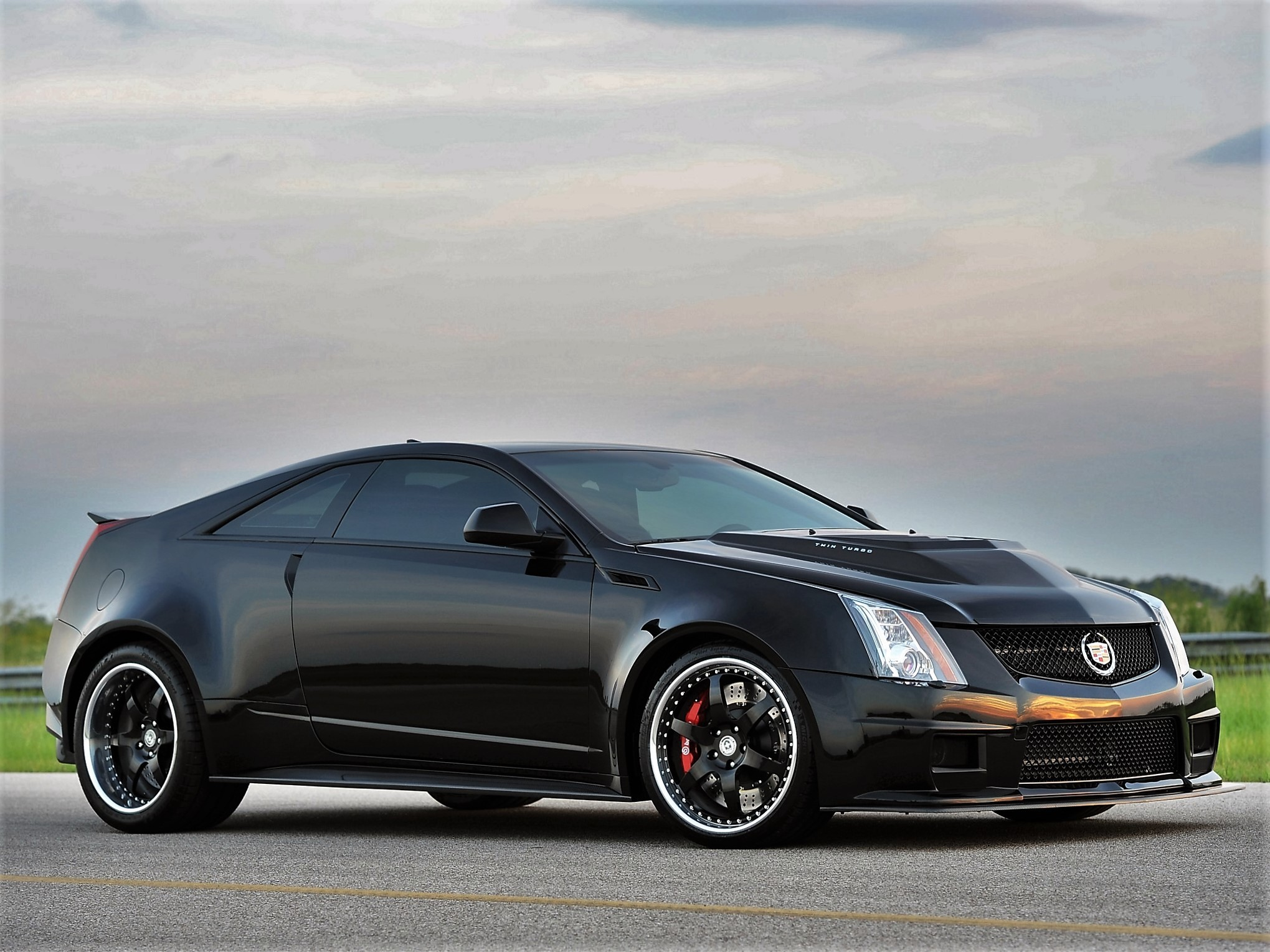 2012 Hennessey - Cadillac CTS-V VR1200 Twin Turbo Coupe