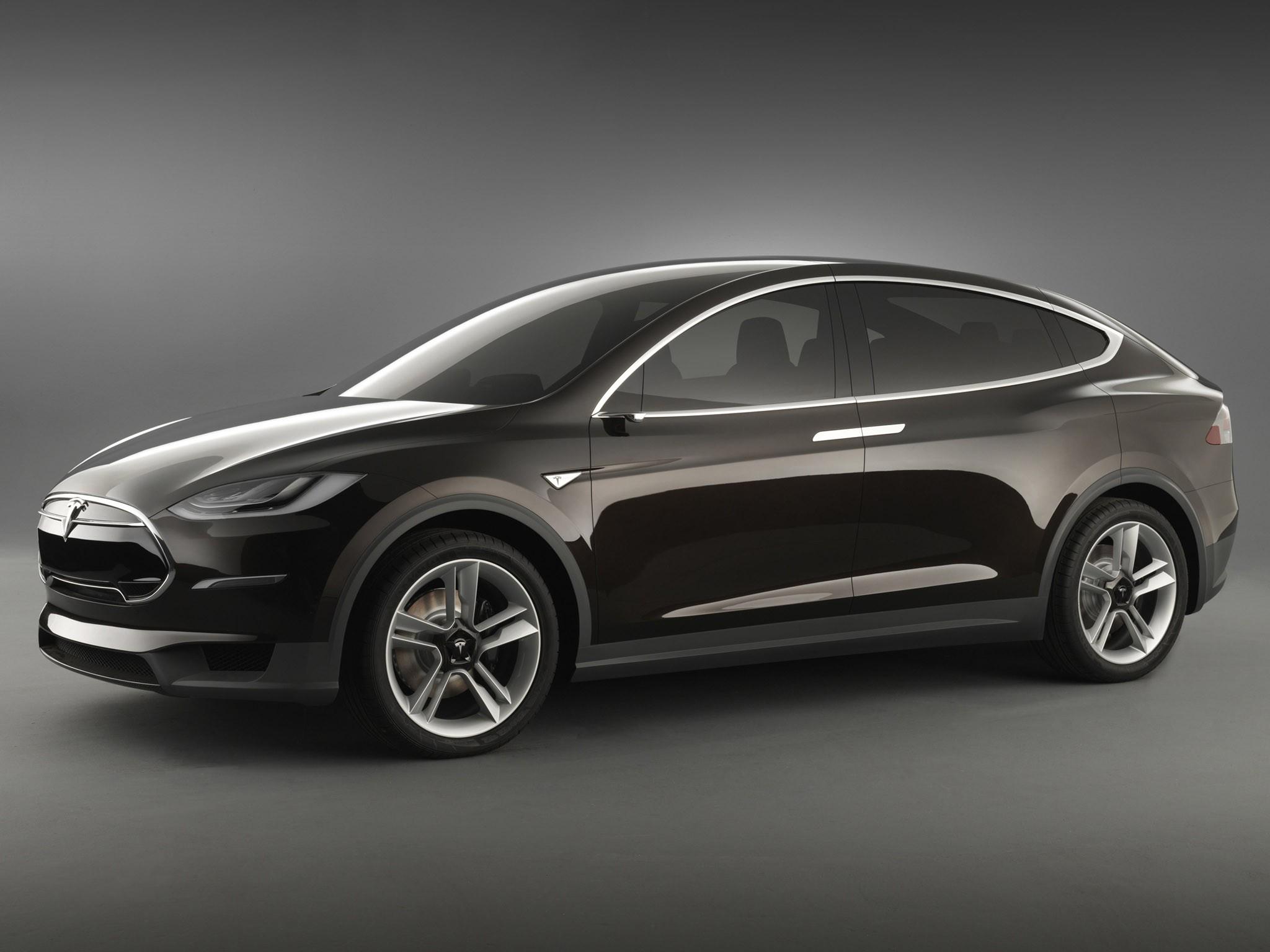2012 Tesla Model X Prototype électrique