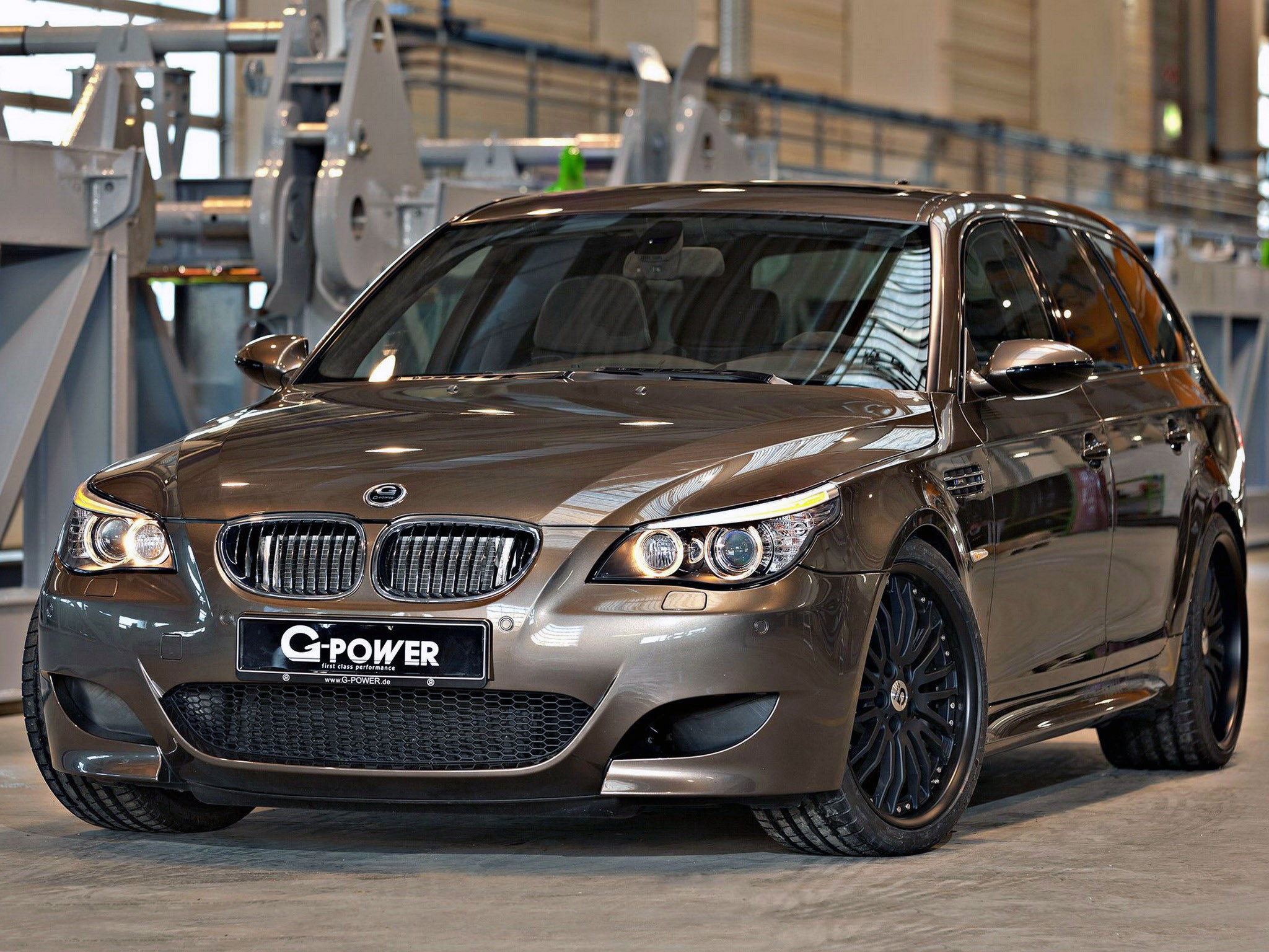 2014 G-Power - Bmw M5 Hurricane RR Touring E61