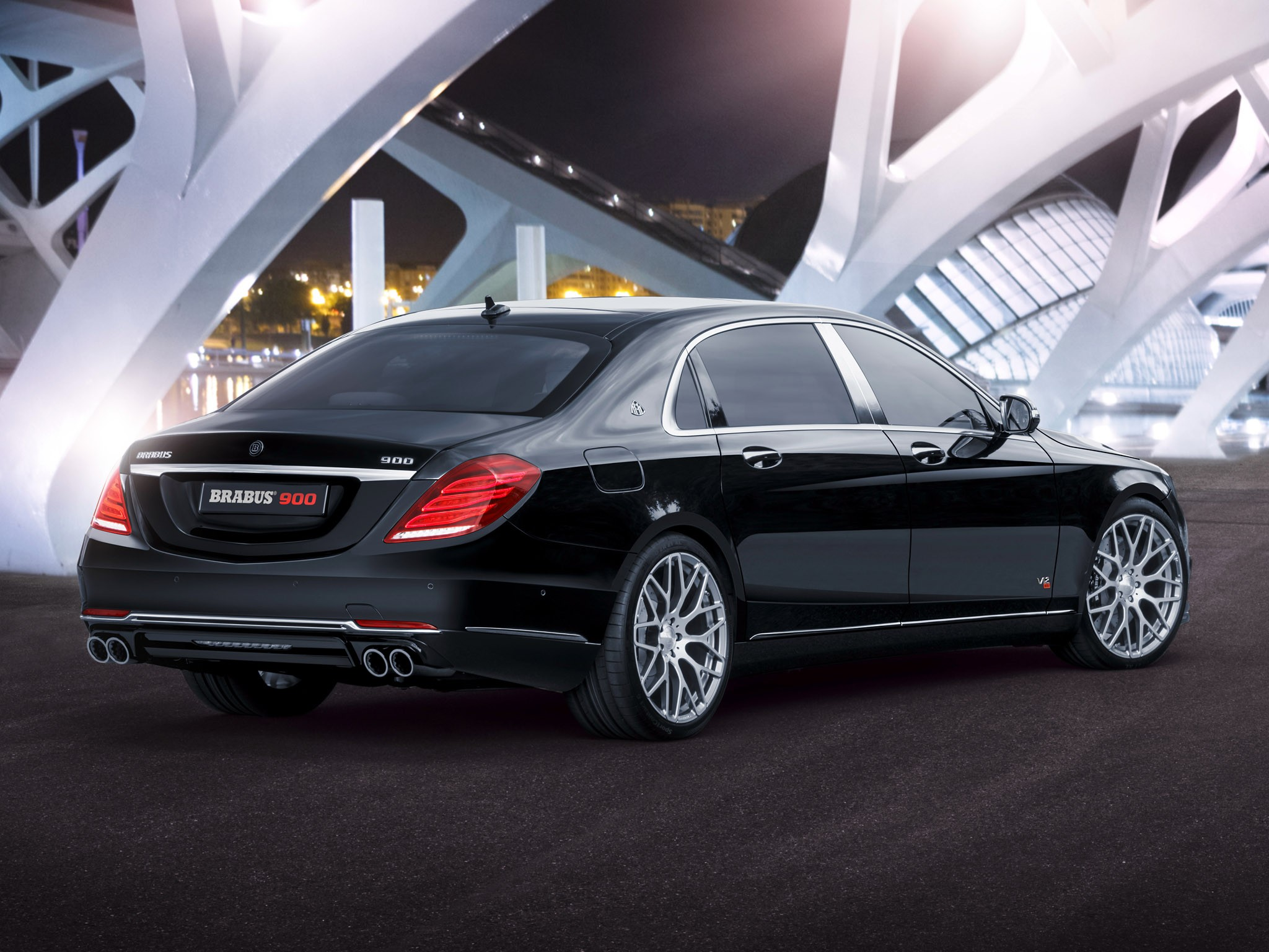 2015 Brabus - Mercedes Maybach Rocket 900 6.3 V12 X222