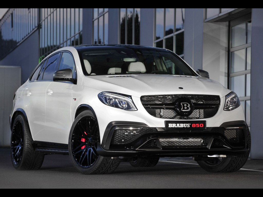 2015 Brabus - AMG Mercedes GLE63 4matic Coupe C292